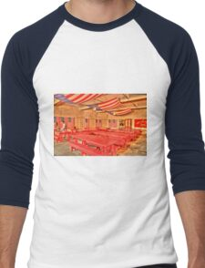 Dining Hall and Photographer Men's Baseball ¾ T-Shirt