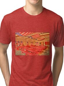 Dining Hall and Photographer Tri-blend T-Shirt
