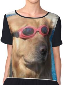 doggo Chiffon Top