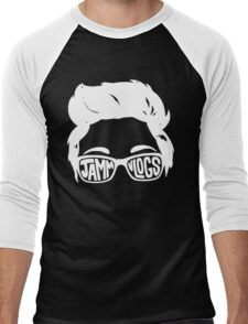 JAMMvlogs Typography Tee Men's Baseball ¾ T-Shirt