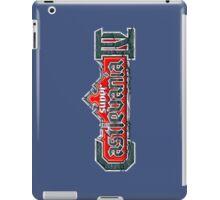 SUPER CASTLEVANIA LOGO iPad Case/Skin