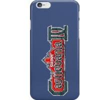 SUPER CASTLEVANIA LOGO iPhone Case/Skin