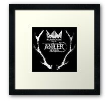 Antler Series 0005 - Malicemalignant clothing Framed Print