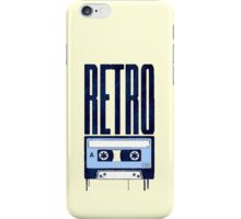 RETRO SOUND iPhone Case/Skin