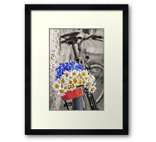 From the field Framed Print