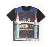 Park Castle Entrance to the Land of Makebelieve Graphic T-Shirt