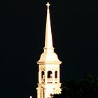Gettysburg Lutheran Seminary Church Steeple by AngieDavies