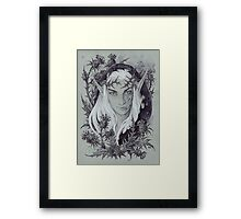 King of Unseelie Courts Framed Print