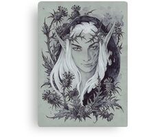 King of Unseelie Courts Canvas Print