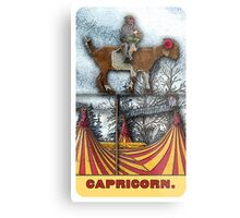Capricorn - from The Midway Arcana Metal Print