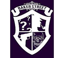 Baker Street White Photographic Print
