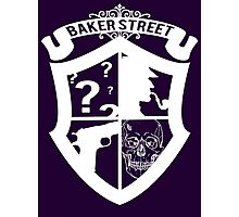 Baker Street White Photographic Print