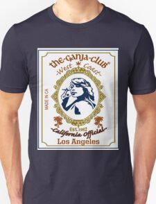 The Ganja Club : Zig-Zag California Design, Apparel, Decor & Accessories. Unisex T-Shirt