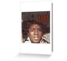MJ - Lil' matic Greeting Card