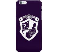 Baker Street White iPhone Case/Skin
