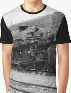 Southern Pacific SP 4303 Steam Locomotive Graphic T-Shirt