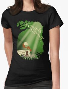 Friends Forever Womens Fitted T-Shirt