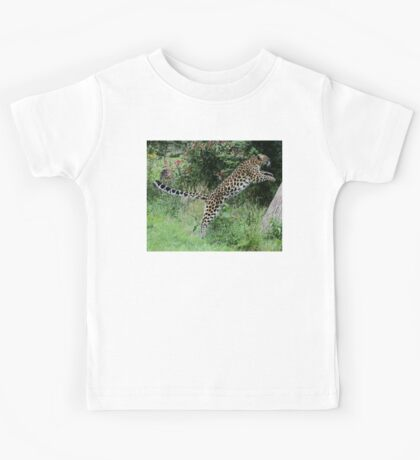 Leaping Leopards! Kids Tee