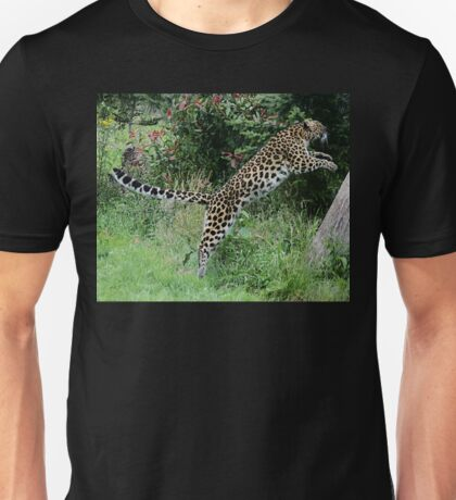 Leaping Leopards! Unisex T-Shirt