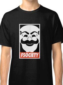 FSociety, Mr. Robot Classic T-Shirt