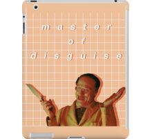 Master of Disguise iPad Case/Skin