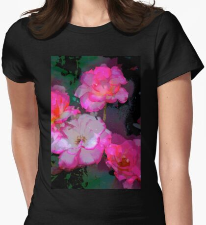 Rose 223 Womens Fitted T-Shirt