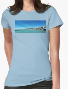 seaside Womens Fitted T-Shirt