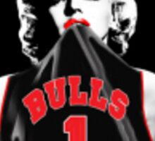 Marilyn Monroe Chicago Bulls Sticker/Poster Sticker