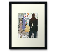 WILL THEY? WON'T THEY? Framed Print