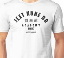 jeet kune do martial arts wing chun black text Unisex T-Shirt
