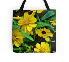 Bed of Yellow Tote Bag