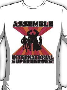 International Superheroes T-Shirt