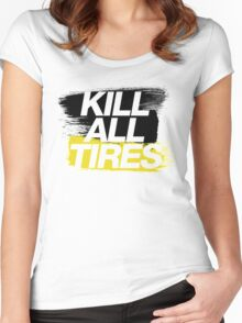 Kill All Tires (2) Women's Fitted Scoop T-Shirt