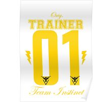 Team Instinct Trainer Poster