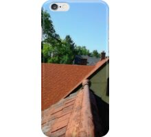 Rooftop view in old greeley iPhone Case/Skin