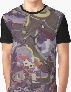 pokemon rayquaza Graphic T-Shirt