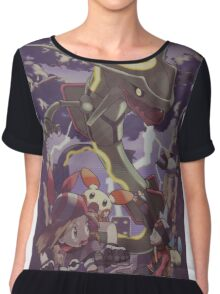 pokemon rayquaza Chiffon Top