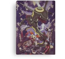 pokemon rayquaza Canvas Print