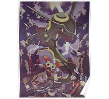 pokemon rayquaza Poster