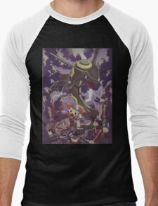 pokemon rayquaza Men's Baseball ¾ T-Shirt
