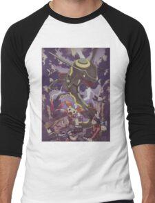 pokemon rayquaza Men's Baseball ¾ T-Shirt