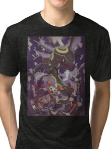 pokemon rayquaza Tri-blend T-Shirt