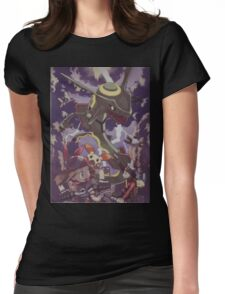 pokemon rayquaza Womens Fitted T-Shirt