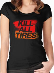 Kill All Tires (3) Women's Fitted Scoop T-Shirt