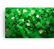 Green Lego Blocks Poster/Pillow/Stickers Canvas Print