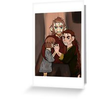 Protective Brothers  Greeting Card