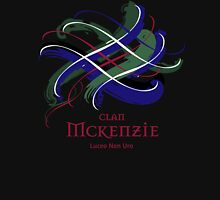 Clan McKenzie - Prefer your gift on Black/White, let us know at info@tangledtartan.com Unisex T-Shirt