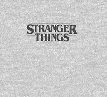 Stranger Things - Black Women's Fitted V-Neck T-Shirt