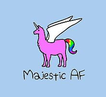 Majestic AF Pink Llamacorn by jezkemp