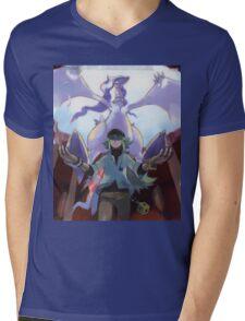 pokemon reshiram and n Mens V-Neck T-Shirt